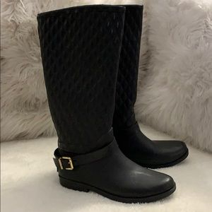 Guess quilted rubber boots